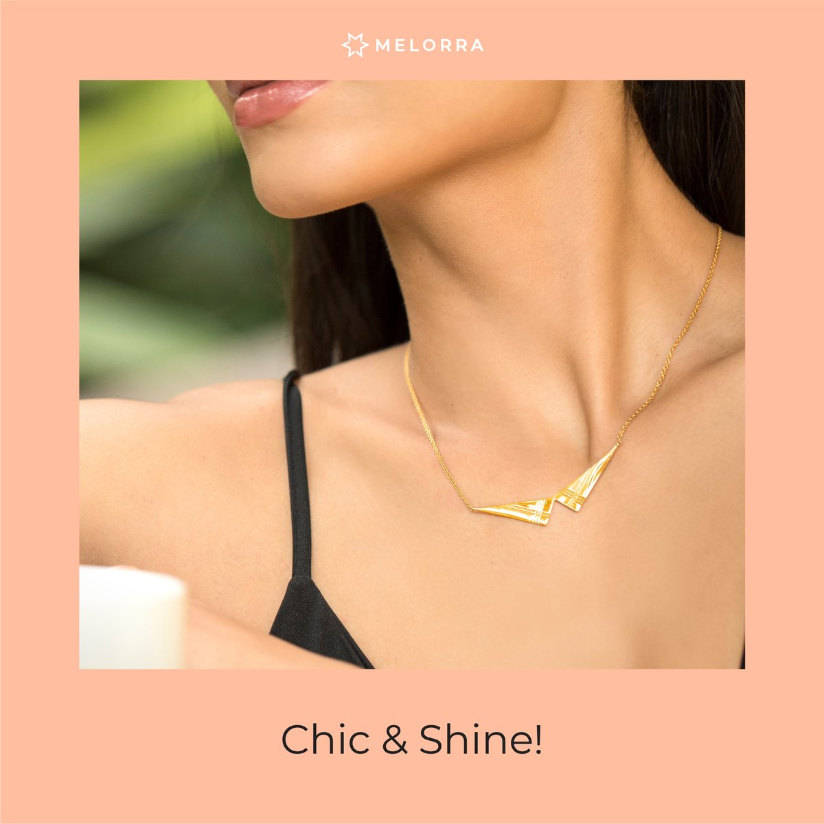 Who doesn't like slipping into something comfy, teamed with a statement piece and a nice cuppa accompanying us while working from home? Well, it sounds refreshing. And for your in-between work-breaks, check out this necklet and more >  #Melorra #ShopOnline
