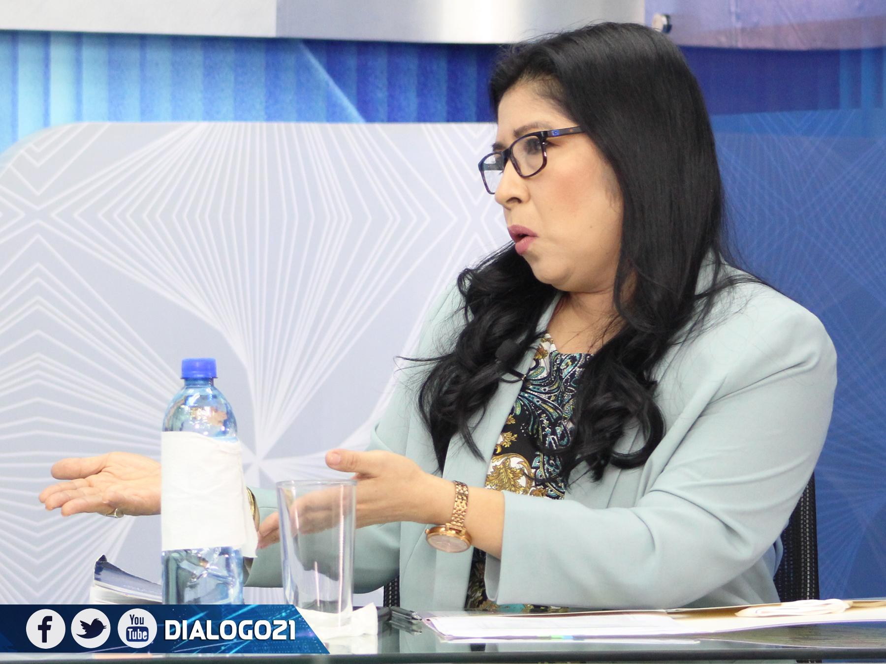 Presidenta del TSE niega que obstaculicen incripción de candidaturas