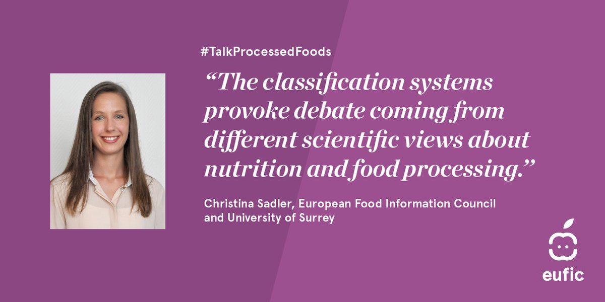 'Processed food is not bad per se' ▶️Pleased to join today's symposium on processed food organised by @EUFIC Interesting discussion ahead!  #TalkProcessedFoods