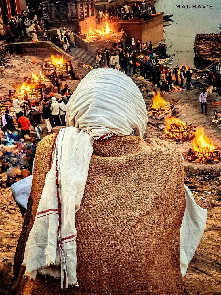 Manikarnika- the Ultimate Truth of Life. @uptourismgov @holyVaranasi @incredibleindia
