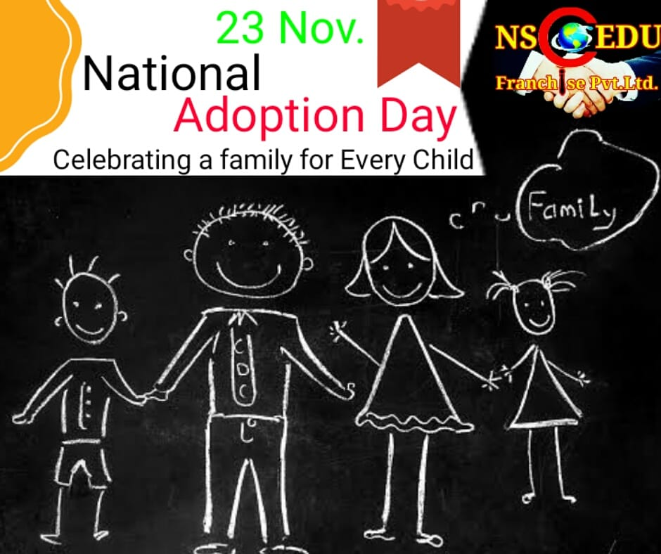#NationalAdoptionDay  On National Adoption Day courts and communities in the United States come together to finalize thousands of adoption of children from foster care.