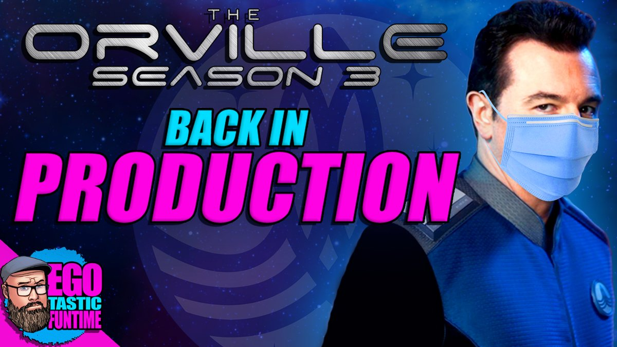 I'm super excited that season 3 of #TheOrville is back in production! I don't care how long it takes for the show to make it back to our televisions as long as it comes back right! It's going to be amazing! Ja'loja!!!