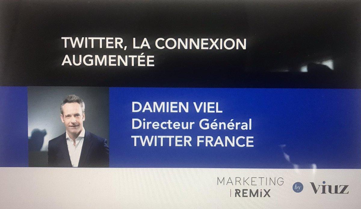 #replay - @damienviel DG de @TwitterFrance revient lors du #MarketingRemix by @Viuz sur comment les entreprises créent du lien avec leurs clients et reconnectent avec leurs attentes #seminairetwitter #thread