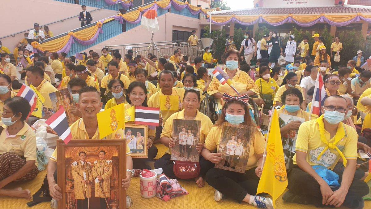 ทุกทิศทั้วไทย ล้วนแต่มีความจงรักภักดี #ทำในสิ่งที่ดีมีน้ำใจต่อกัน