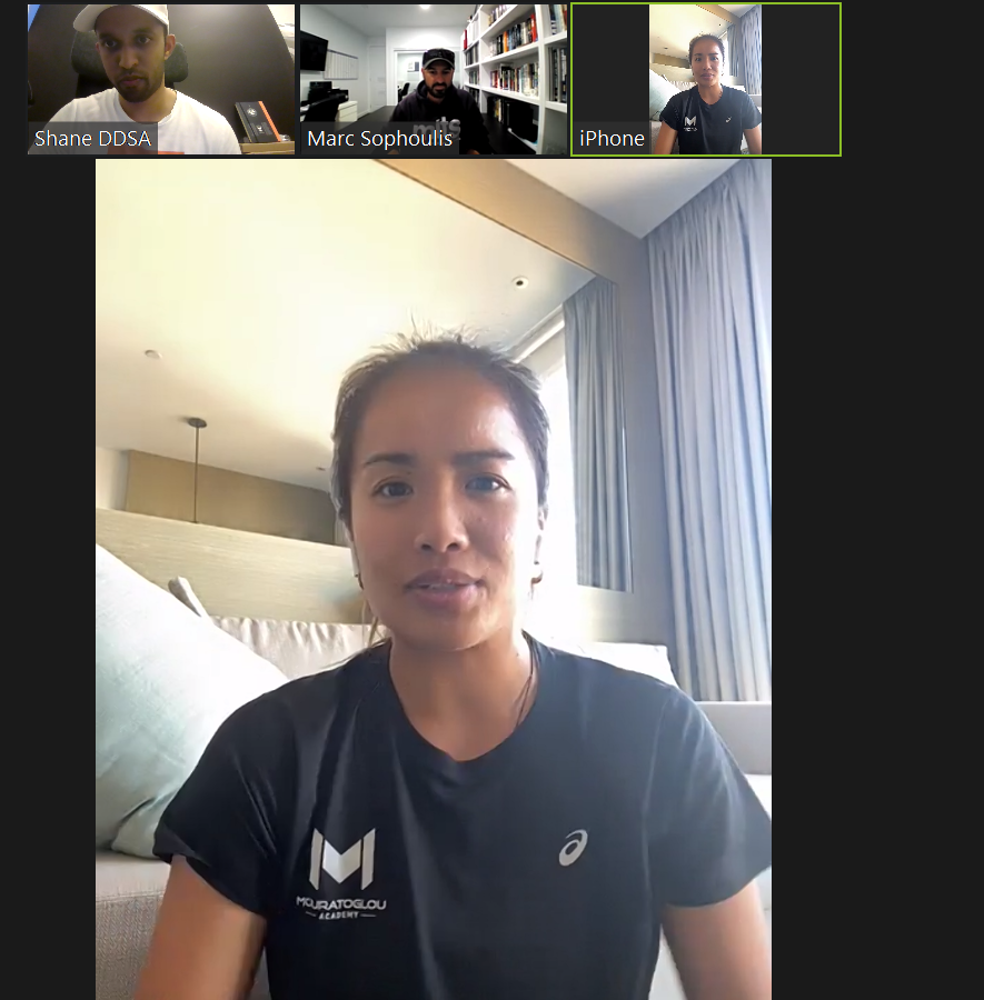 """The final 2020 """"Crunching the numbers"""" podcast features special guest Katherine Westbury. We talk about Katherine's comeback, journey as an athlete in a COVID impacted year, the work @marcsophoulis and I are planning for her preseason and more..  Podcast to air later this week https://t.co/7LcpfiUWBo"""