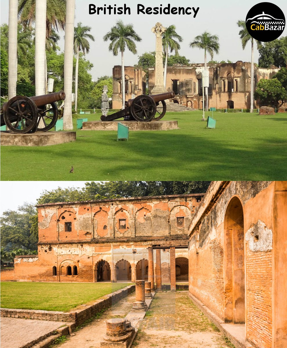City of Nawabs & Kebabs Lucknow  Like @cabbazar  page to follow  Book Cab Now:- #travel #fun #friends #live #family #tour #destinations #city #Trending #cityofnawab #lucknow #lucknowblogger #lucknowcity #lucknowtourism #britishresidency #British #residency