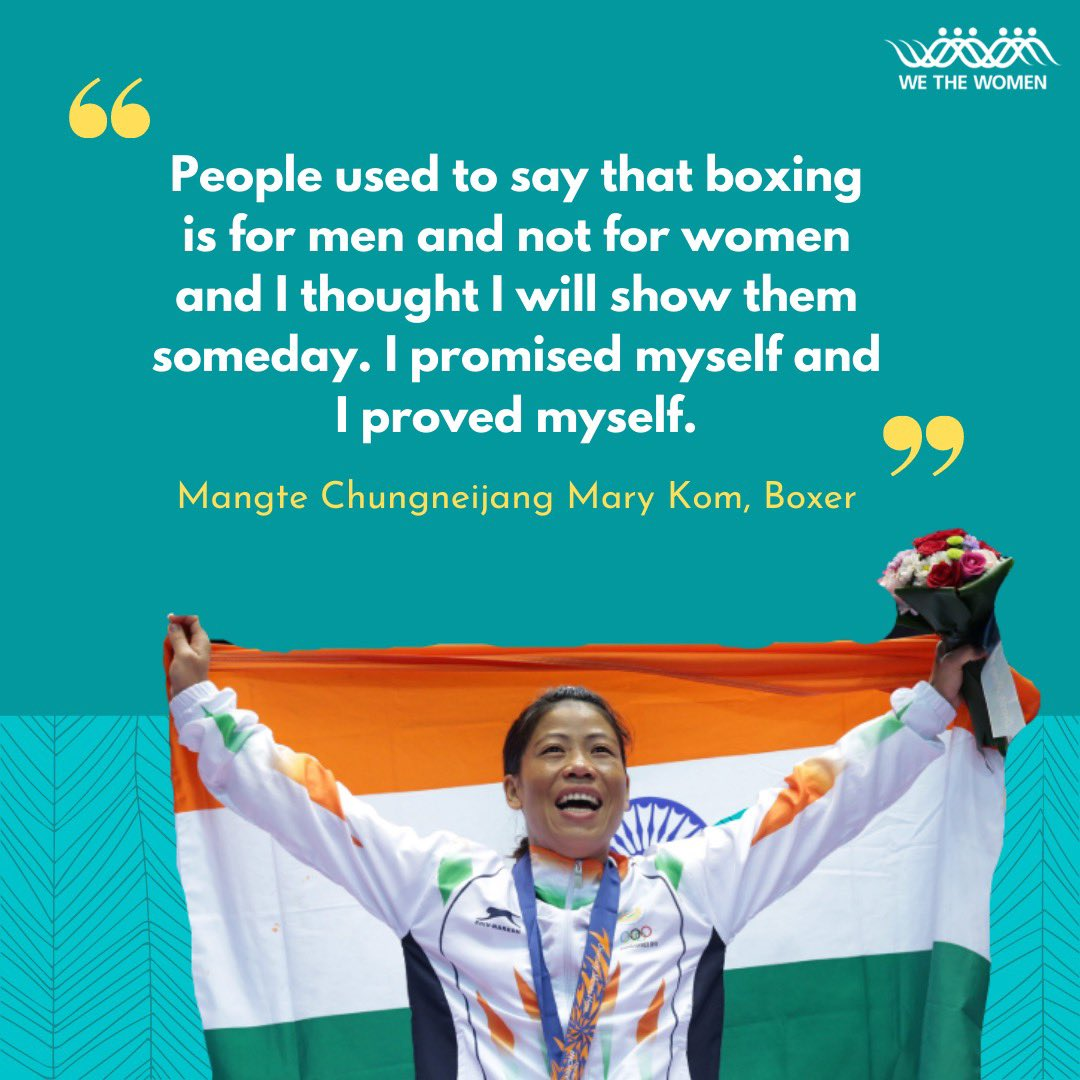For the longest time sports wasn't considered a field that women could excel in. But these indian sportswomen, trailblazers in their own right, consistently proved these stereotypes wrong. #WomenInSports  @MangteC @MirzaSania @NSaina