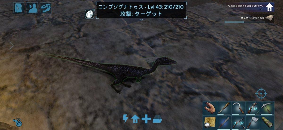 回復 Ark 恐竜