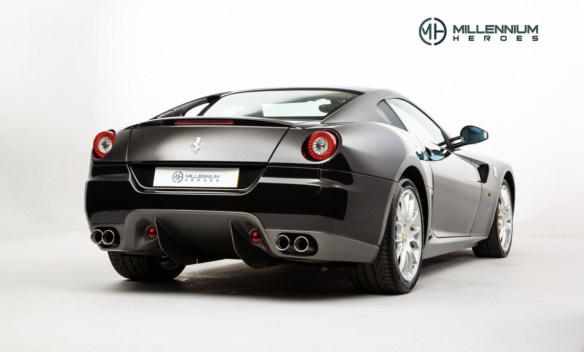 This 599's Nero Daytona paintwork presents in a uniform, consistent shade throughout and remains in superb condition having been carefully looked after by previous ownership: https://t.co/6ZnLaMcLhv #Ferrari599 #599GTB #NeroDaytona https://t.co/5lqdOiiaYW