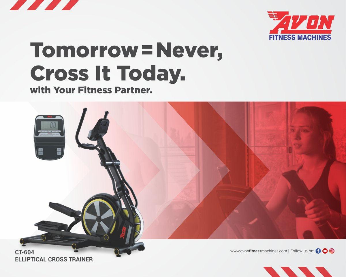 Now is the time for action. Get your Avon Fitness Machine, NOW.  #AVON #Fitness #Gym #Workout #FitnessMachines #Treadmill #Cardio #GymEquipment #Dussehra #Health #Diet #CrossTrainer #UprightBike #Bikes #Cycles #SpinBike #MultiGym #Benches #Orbitrac #HomeGym https://t.co/bHtgPqd8fS