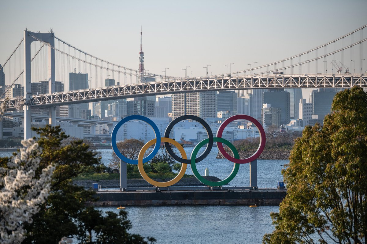 Replying to @Olympics: An Olympic view of Tokyo 🤩. #Tokyo2020 #Tokyo2020Tuesday  @Tokyo2020