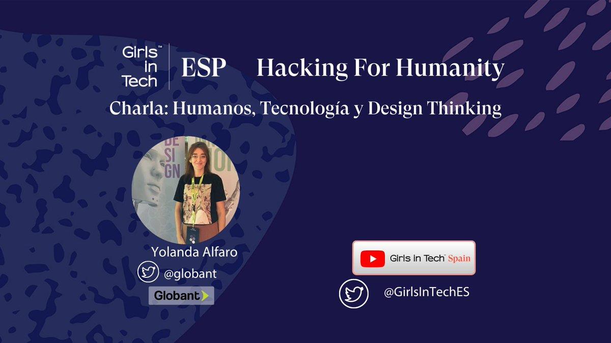 8/10 19:50 – 20:10 Charla de @globant Humanos, Tecnología y Design Thinking #designthinking https://t.co/x8EW740AQq