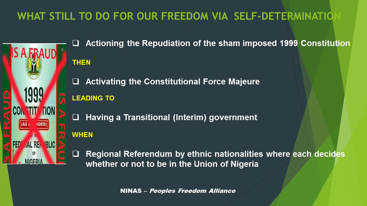 The ethnic nationalities have already REPUDIATED the sham and imposed 1999 Constitution (MNN Alliance) https://t.co/PrbqbhUIoW https://t.co/oy0tYc5CQI
