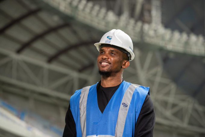 """I like the people in Qatar, they are open and sincere. I also like the fact you always feel safe and secure in Doha and throughout the country."" - Samuel Eto'o, Global Ambassador for the Supreme Committee for Delivery & Legacy.   #2YearsToGo"