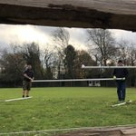 End of the football season @thenewbeacon Sean and James moving the goalposts. Something to which we have become accustomed!