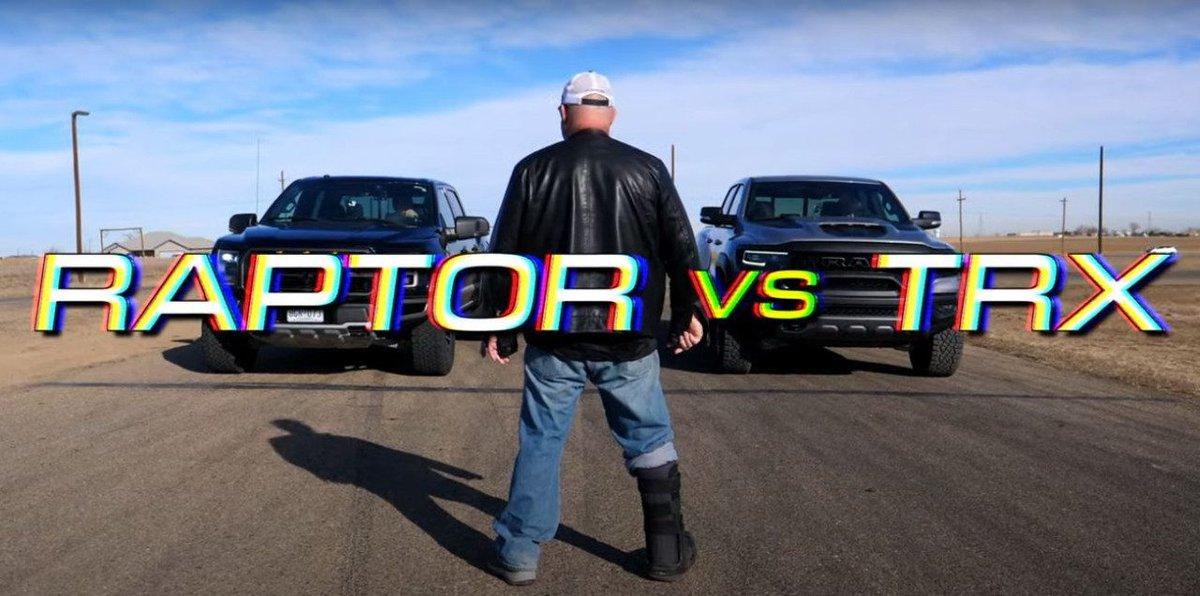 Duelo off-road extremo: RAM 1500 TRX vs. Ford F-150 Raptor  https://t.co/MBPDzhX3eA  @RamTrucks #RAM #ram #Rebel #pickup #TRX @AEC_Europe @FordSpain @Ford @FordEu @FordPerformance #FordPerformance #fordperformance https://t.co/FOdu11lqTJ