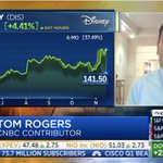 """""""Disney really hasn't got the kind of engagement which gives you pricing power & that price-value perception"""". As @Disney reports a quarterly loss, @Captify's Chairman Tom Rogers gives his expert opinion on the challenges ahead. Tune in on @SquawkCNBC: https://t.co/JzIoYIWZHF"""