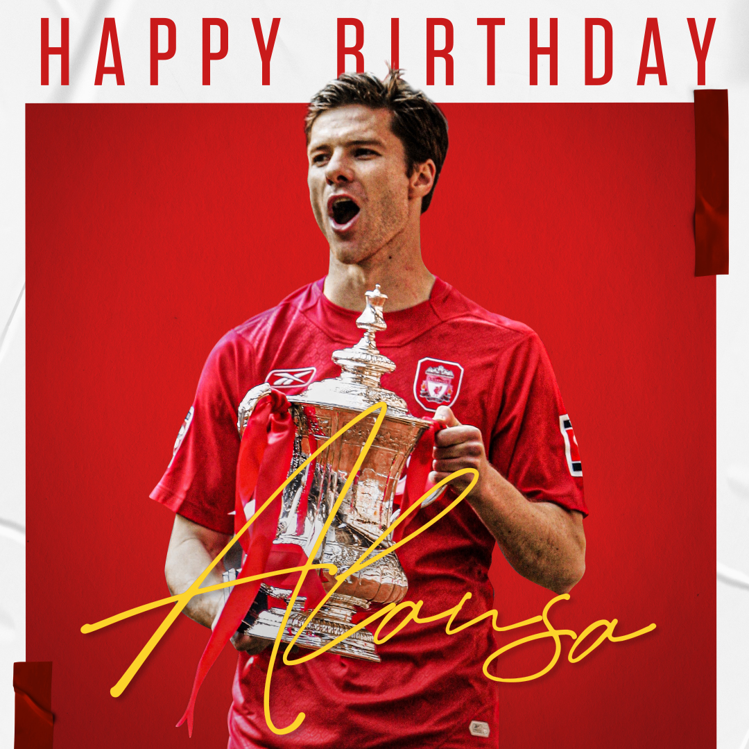 What a player 🤩  Happy birthday, @XabiAlonso! 🥳