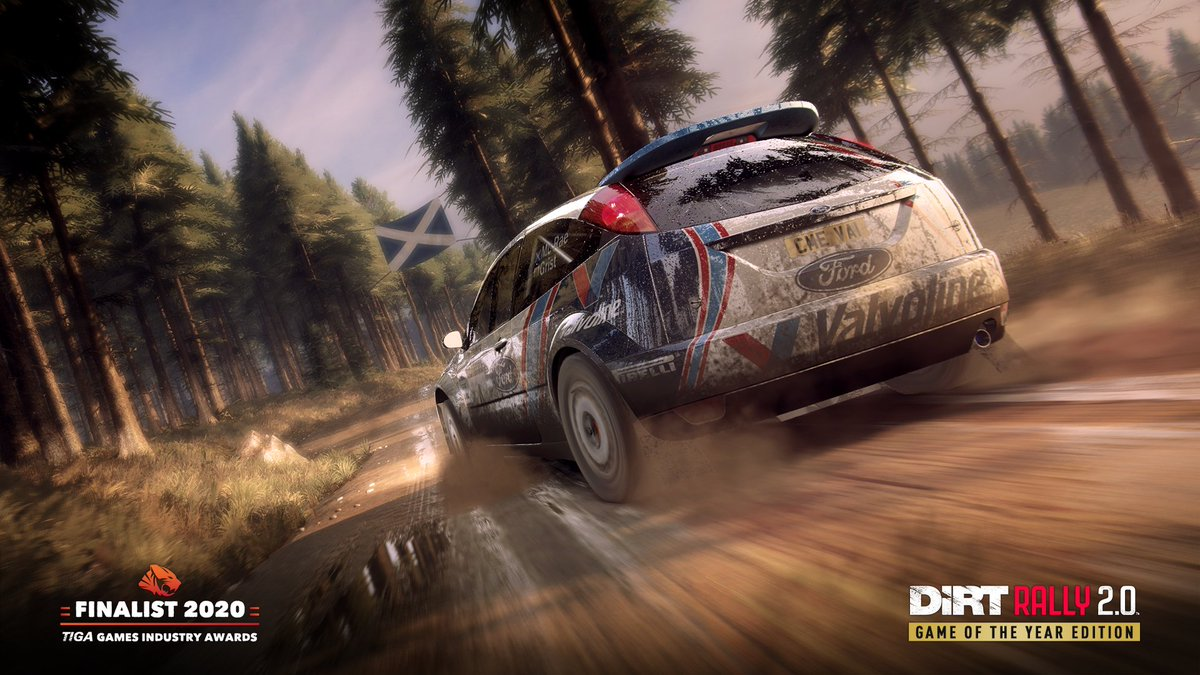 #DiRTRally 2.0 is up for a @TIGAMovement Award this week, tune in and celebrate another year of great games 🏆  🔴