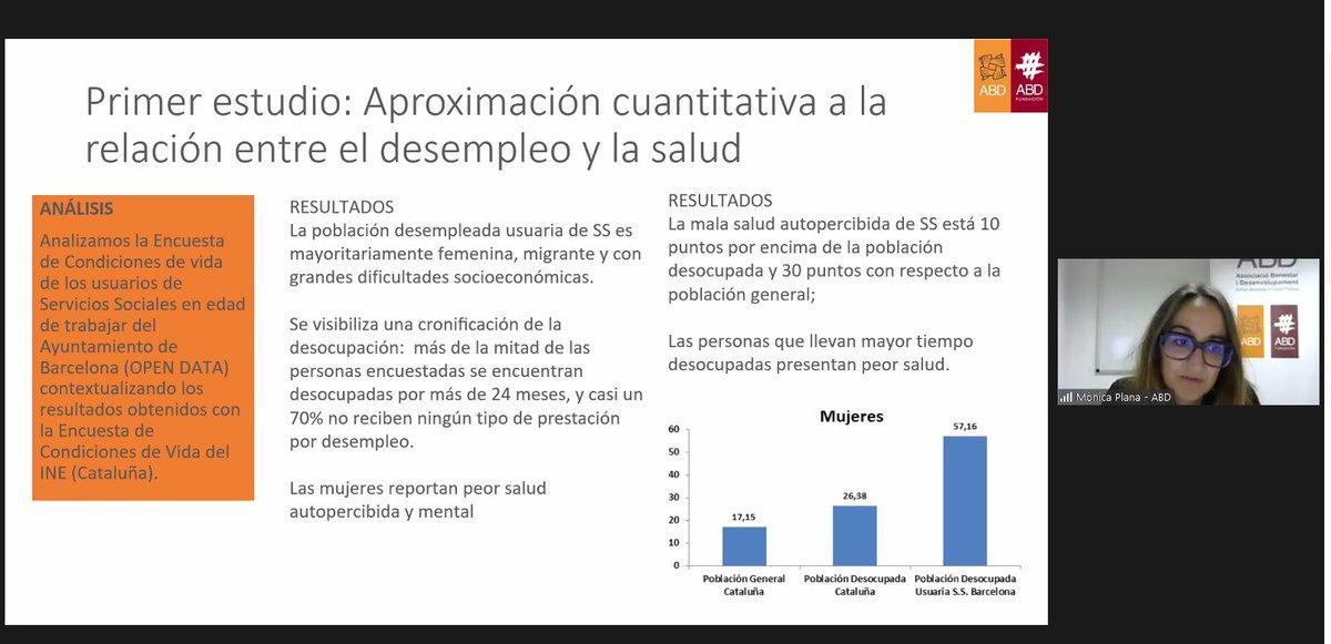 """test Twitter Media - """"La población desempleada usuaria de servicios sociales es mayoritariamente femenina, migrante y con grandes dificultades socioeconómicas"""". https://t.co/BQbA8BSwuR"""