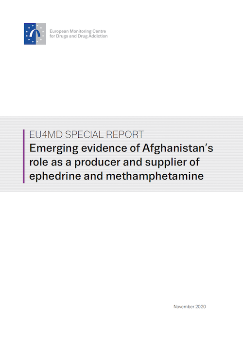 In 2016 it was discovered that Ephedra plants growing wild in the mountains could be used to synthesize methamphetamine (crystal meth) in #Afghanistan  A new report by @AlcisGeo @mansfieldintinc shows a rapid establishment of the industry since, inc links to local & intl. markets