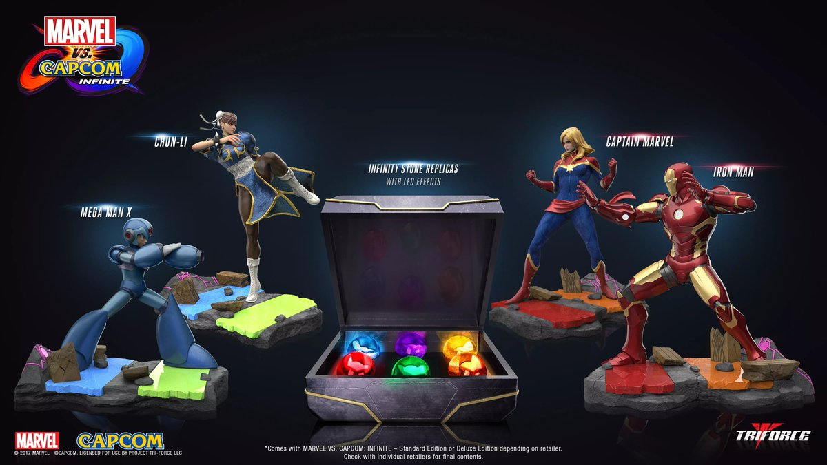 Akshon Esports - The Infinity stones from the MVCI Collectors Edition is a classic case of things not being sold to you as advertised 😢