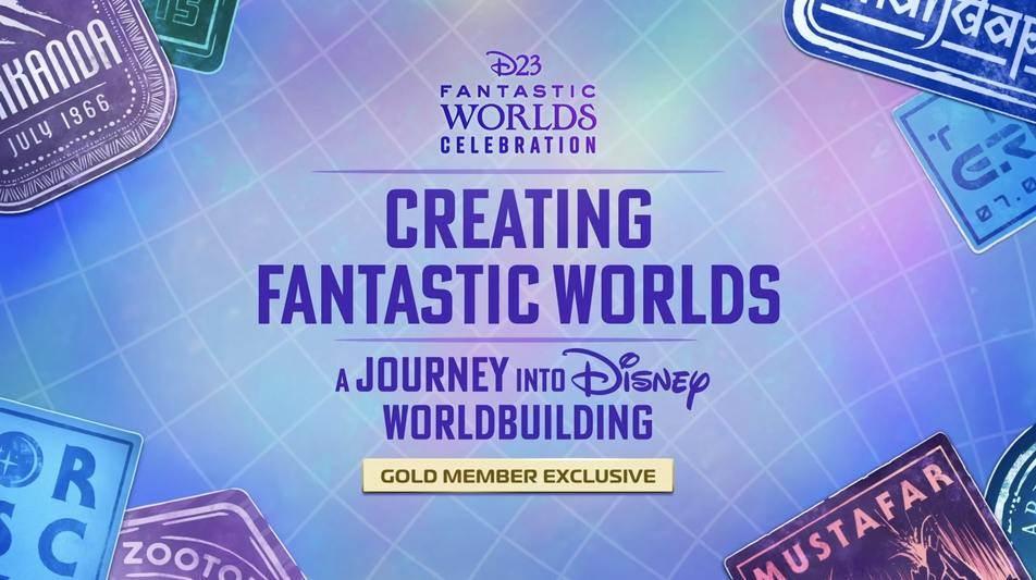 """(Voyage) Notre compte-rendu du panel """"Creating Fantastic Worlds: A Journey into Disney Worldbuilding"""" qui a clôturé en beauté la semaine #D23FantasticWorlds, avec de nombreux intervenants de Disney, Pixar, Marvel, Lucasfilm et Walt Disney Imagineering."""