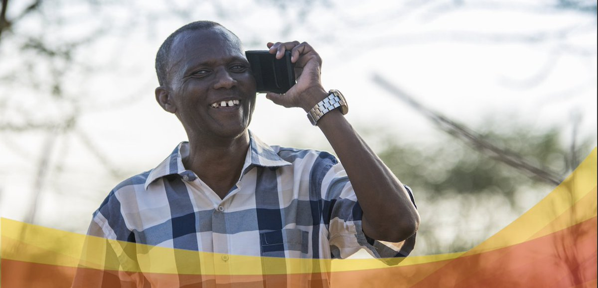 Azuri customer Joseph Otieno, benefits from #PayGoSolar he is connecting new ideas and increasing productivity☀️🌱💵  Read more about Joseph's story and how he is smart farming with smart energy here:    #Kenya #OffGridSolar #OffGridEnergy #PayGoSolar