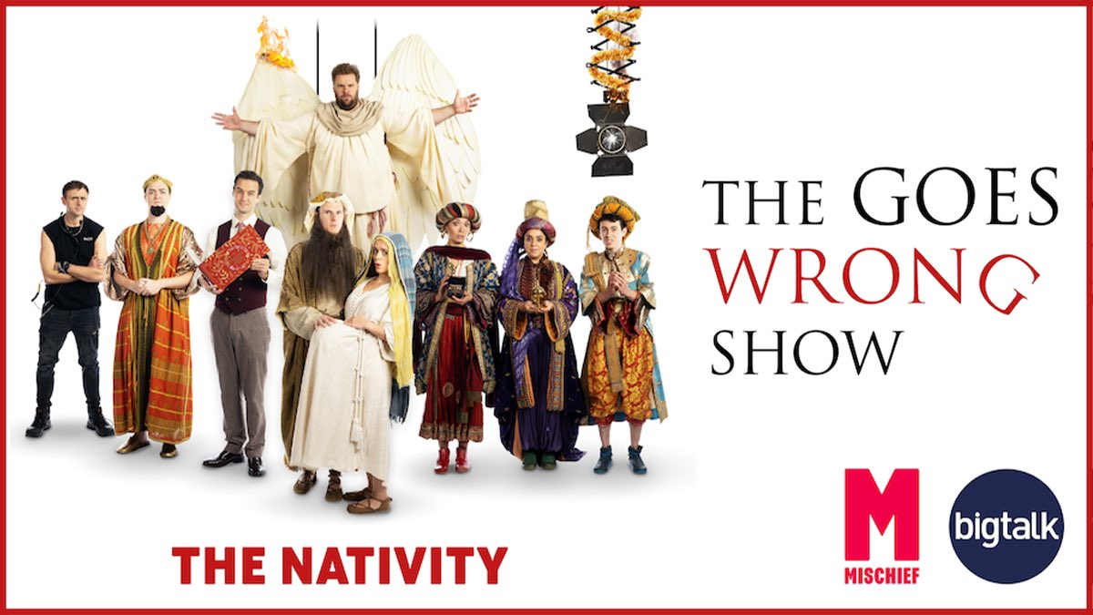 Replying to @chrisleask: This Christmas!!!!! 🎄 #TheGoesWrongShow #TheNativity @mischiefcomedy @bigtalk @BBCOne