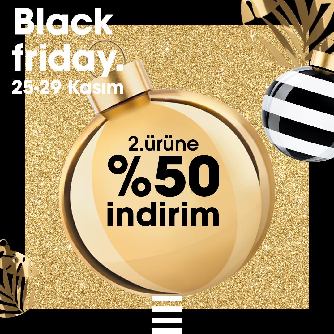 Black Friday indirimleri için başladı! 🎉 25-29 Kasım tarihleri arasında 2. ürüne %50 indirimi Sephora'da keşfet!🤩 https://t.co/K9wx3WBND8
