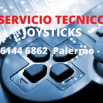 Image for the Tweet beginning: Servicio tecnico de joysticks de