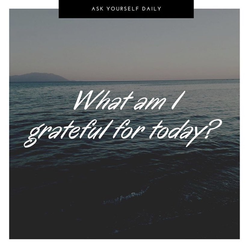 Thanksgiving Day is coming, but we can still be grateful today. We don't have to make a list but let's each write down (or post) one thing we are grateful for today.  #Grateful #TeamOyola #Tuesday #Truth #PayItForward #Thankful #Blessed #TuesdayThoughts #ThankYou #Thanks #Life