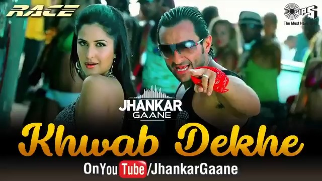 Dance along to the swanky moves of #KatrinaKaif & #SaifAliKhan in this Jhankar version of 'Khwab Dekhe (Sexy Lady)' from their film #Race here:   #JhankarGaane #KhwabDekhe