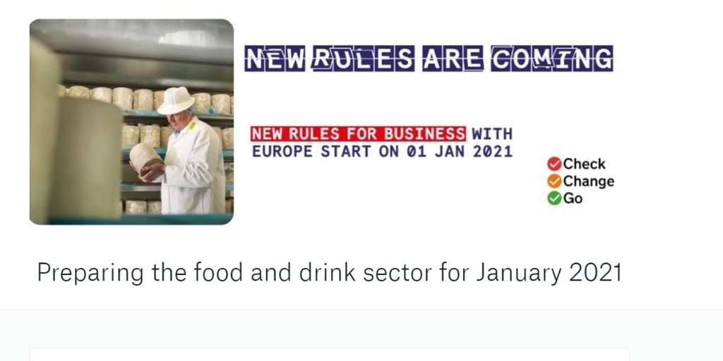 test Twitter Media - Is your business in the food and drink sector? Do you understand how the end of Brexit transition will affect you? Defra has produced a 27-page booklet explaining all the changes coming on January 1. Take a look here. https://t.co/rkiIvGXgNb https://t.co/YM30CMz07L