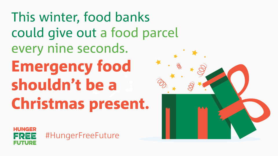 How many food parcels will be given out in the time it takes you to read this tweet? This isn't right. Join us now to build a #HungerFreeFuture >
