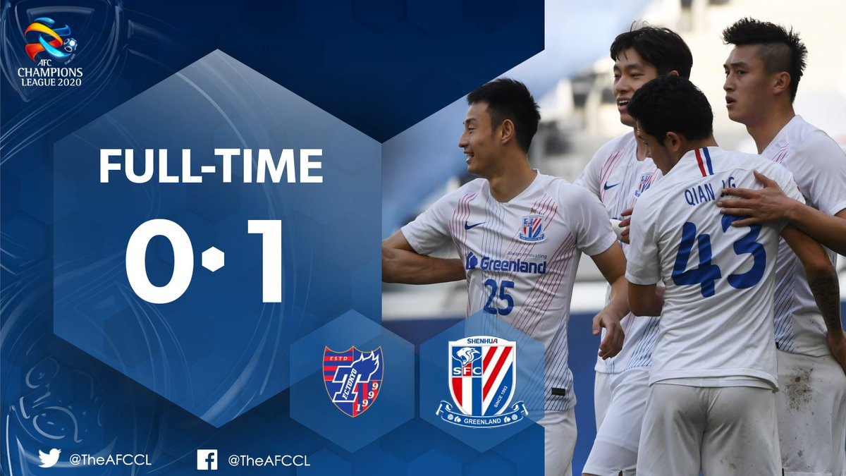 HIGHLIGHTS | 🇯🇵 @fctokyoofficial 0-1 Shanghai Shenhua 🇨🇳  🎥 Yu Hanchao kept his cool from the spot to give Shenhua a narrow win over FC Tokyo.   Check out the best bits from #TOKvSHE ⬇️  #ACL2020