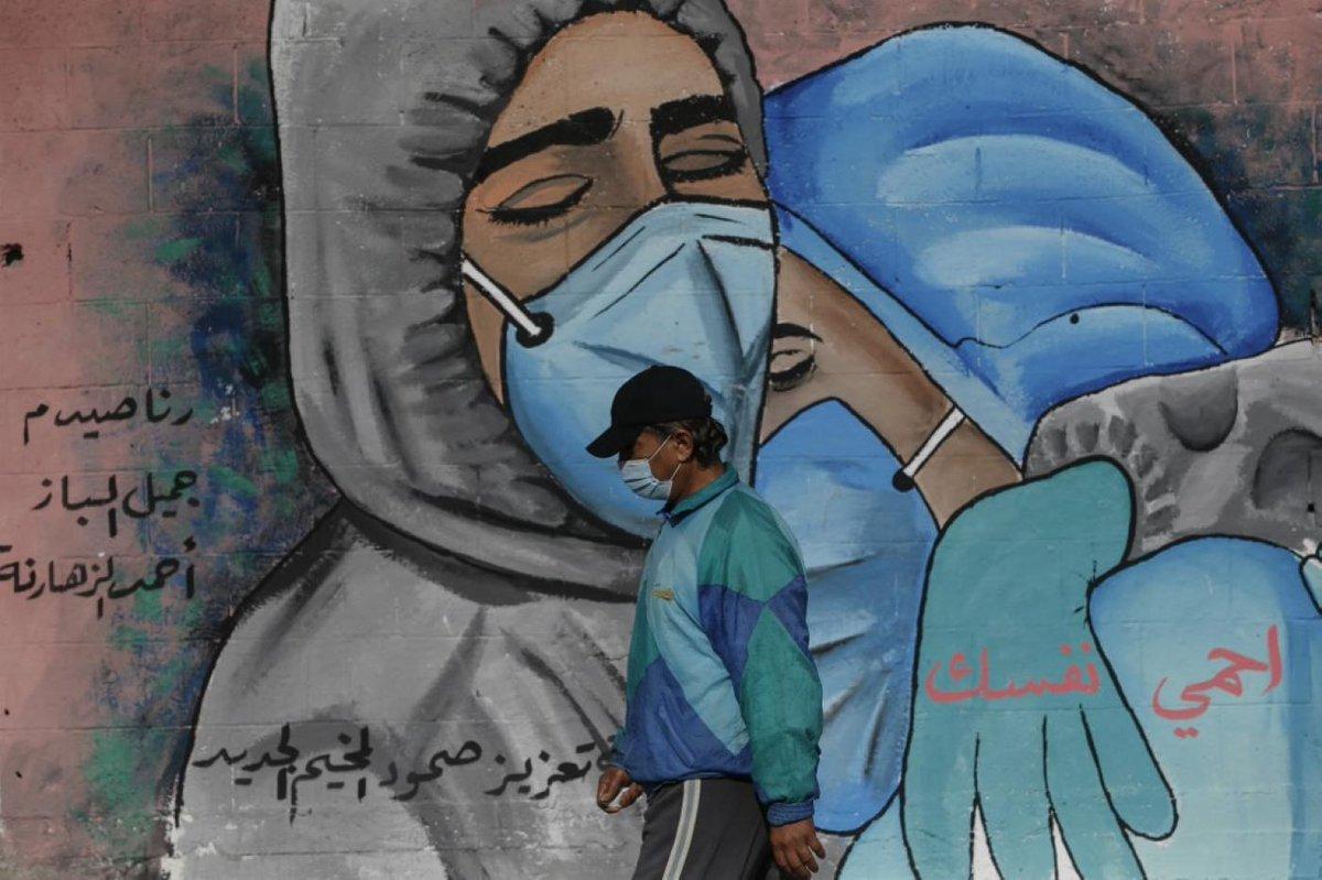 """La situation sanitaire devient """"hors de contrôle"""" dans la bande de Gaza, ont alerté lundi des sources médicales et politiques dans cette enclave palestinienne surpeuplée et sous blocus qui enregistre ces jours-ci des records de contaminations quotidiennes au nouveau coronavirus https://t.co/7ANaxJBS6q"""