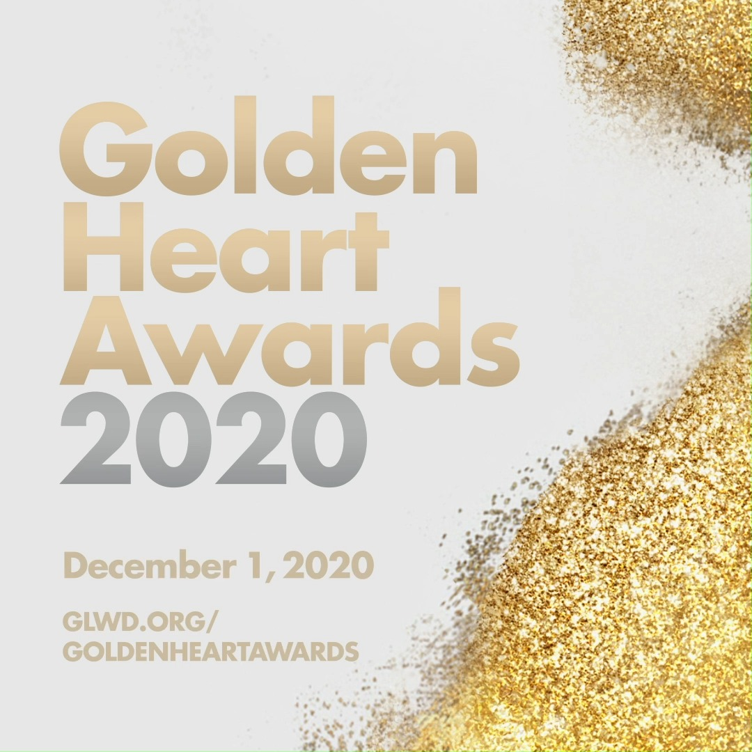 ⭐ One week from today: the #GoldenHeartAwards! ⭐ Held on December 1 to commemorate #WorldAIDSDay, the gala coincides with our 35th anniversary and will honor our devoted frontline workers who have done so much to care for our clients during #COVID19.