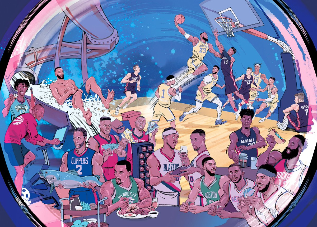 Inside the great @NBA bubble experiment