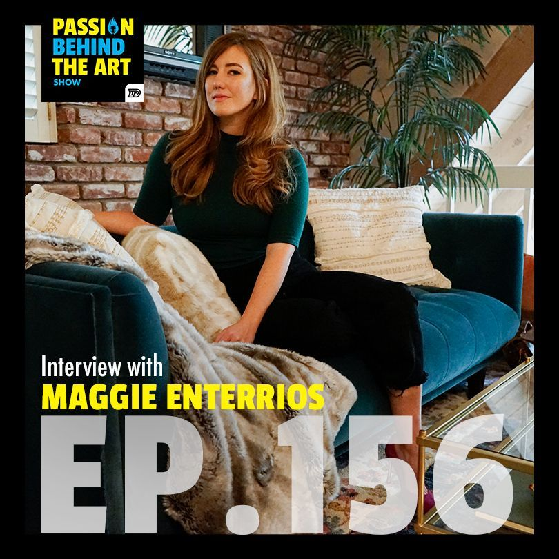 Maggie Enterrios - @littlepatterns | Passion Behind The Art 156 - https://t.co/imXNjSPpxv - #podcasters #podcasting #podcastnetwork #podcastmovement #googlepodcast #googlepodcasts #podcastlove #applepodcast #Passionbehindtheart #pbtashow #creativepodcast #businesspodcastforwomen https://t.co/NSdriLszCE