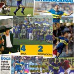 Image for the Tweet beginning: #UnDiaComoHoy en 2004 #Boca goleó