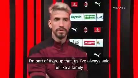 """🗣️ """"We want to beat Lille""""  @SamuCastillejo's thoughts awaiting the away game in France    🗣️ """"Vogliamo battere il Lille"""" Le parole di Samu a due giorni da #LOSCACM #SempreMilan"""