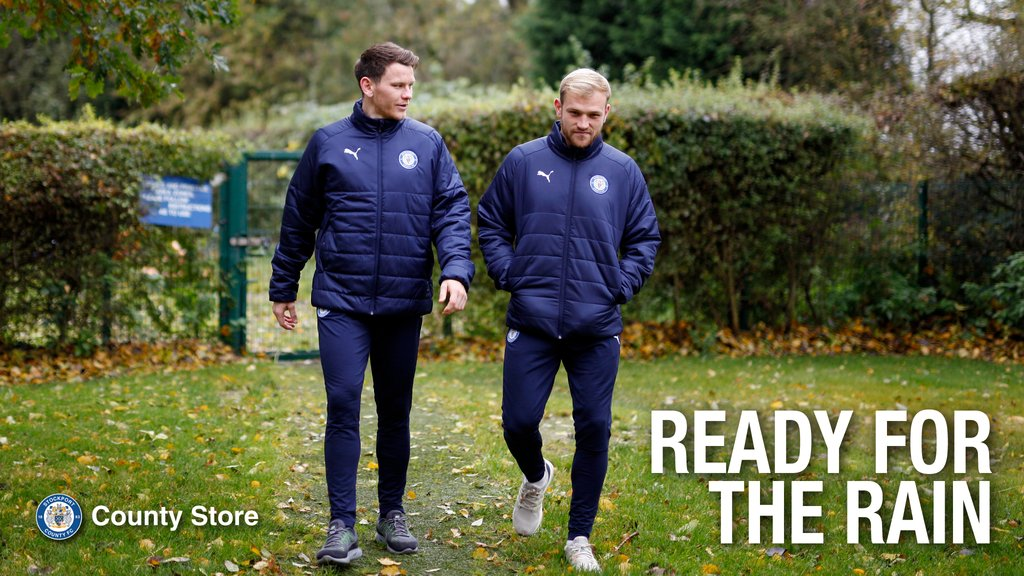 Is your #stockportcounty winter wardrobe ready? ❄️  Check out our padded coats, track tops, and more from our new Puma clothing range - available to browse and buy over on the Club Shop site now!  👉