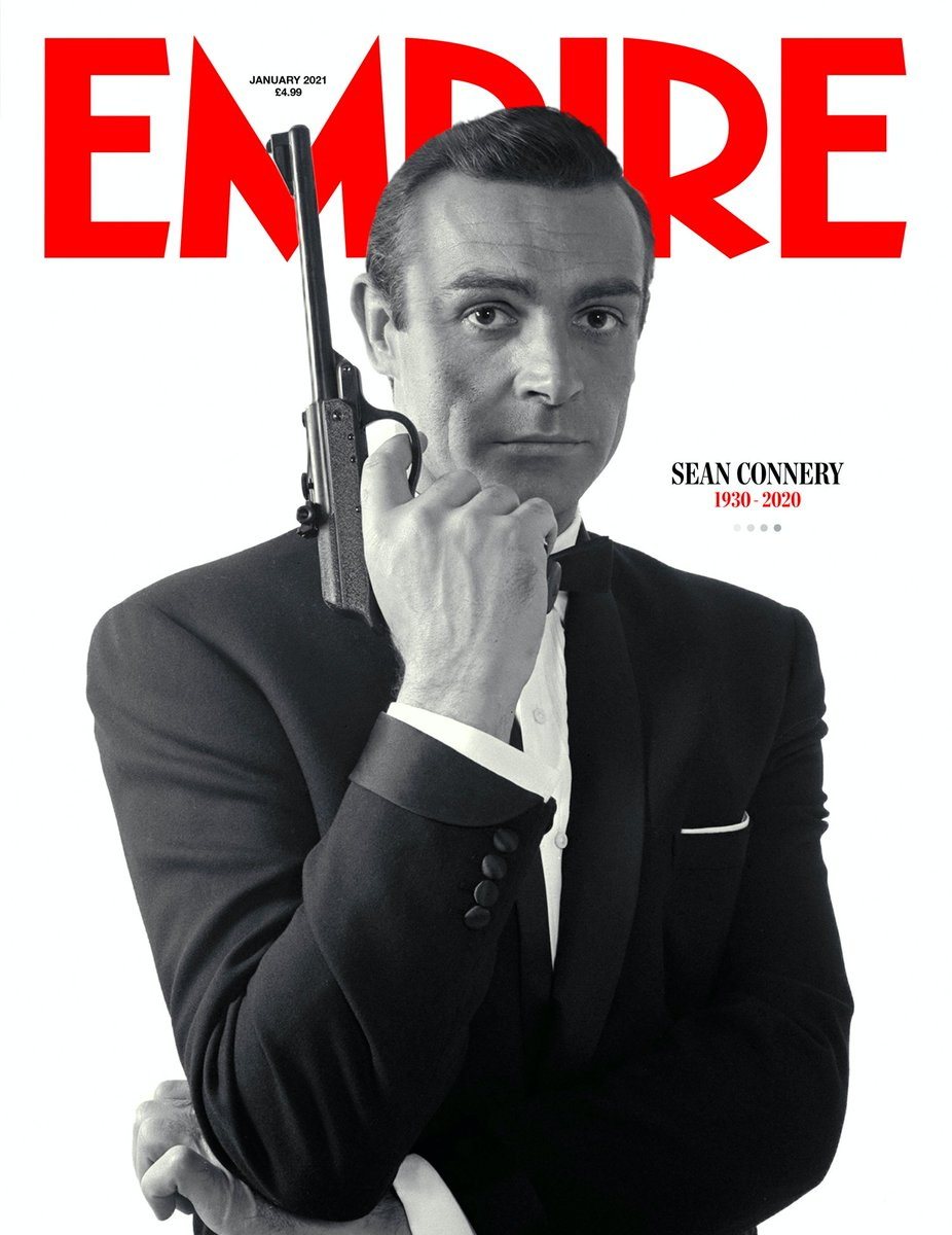 RT @jan_novantuno: Copertine belle bellissime: Sean Connery su Empire. https://t.co/4OPNTkMAv7
