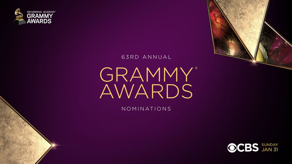 Replying to @RecordingAcad: Congratulations to the 63rd #GRAMMYs nominees!   View the full list: