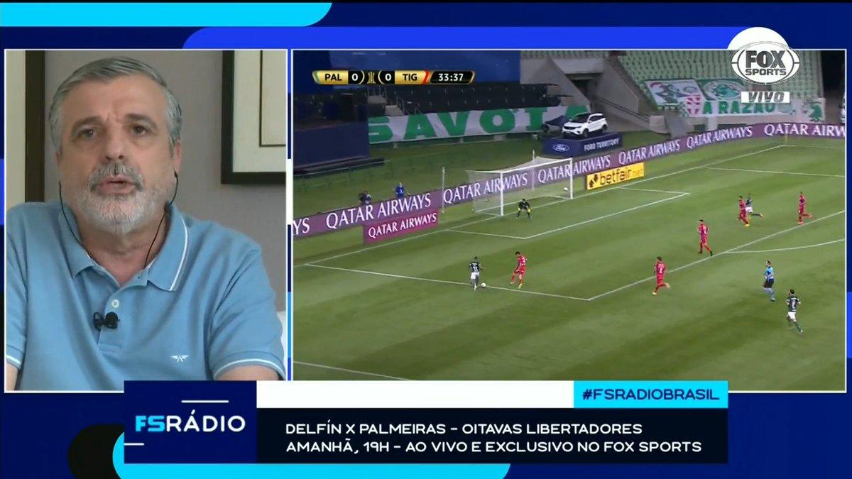 💚🐷 Amanhã é dia de Verdão pela Libertadores! Você acompanha tudo ao vivo e exclusivo no Fox Sports!  #FSRadioBrasil https://t.co/hiL0ULI6QZ