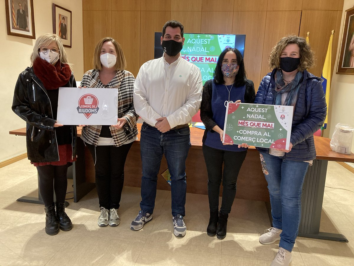 Riudoms llença una campanya de Nadal que aposta per la promoció econòmica  ▶️https://t.co/22T9wNI6iB  @ajriudoms #Riudoms #REus #Tarragona #Nadal #comerç https://t.co/SRj1LyjZIW