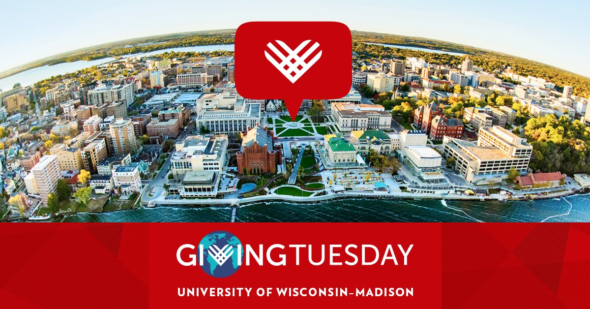 Save the Date: #GivingTuesday is December 1! The Wisconsin Alumni Association® is proud to be a part of this global celebration of giving. Learn how your generosity makes a difference in the lives of future Badgers. ❤️   https://t.co/sLvCqjtaFg https://t.co/mK8hJGHjZZ