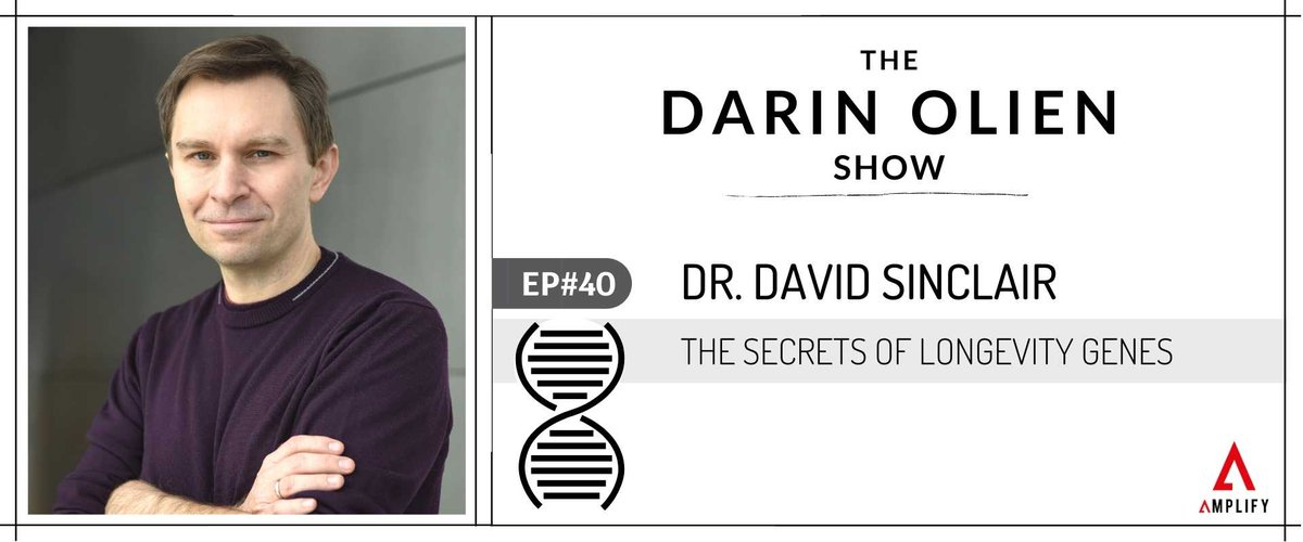 If you had the chance to slow down the aging process, would you take it?   No, this isn't something from a sci-fi movie. Pioneering scientists like @davidasinclair are showing how anti-aging fiction could very soon be a reality -