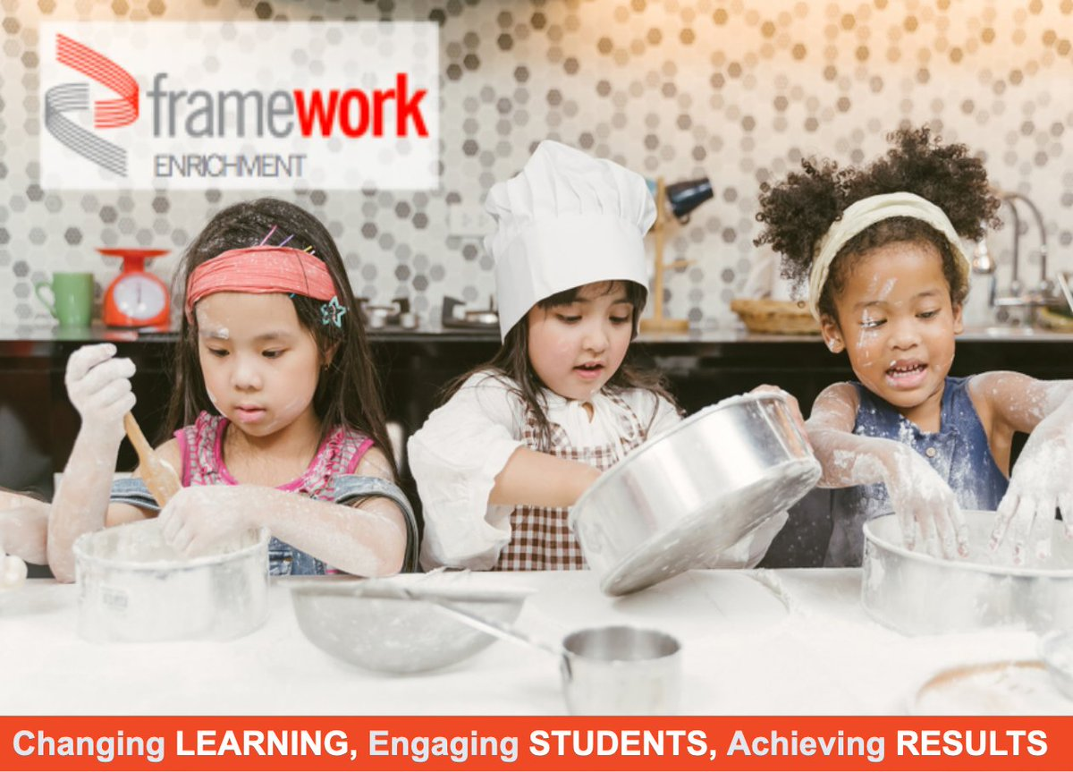 "Let our certified teachers add structure, joy, and wonder to your children's day.  Enroll them in our ""Breakfast Around the World Cooking Class.""  To learn more about this and other exciting enrichment course offerings, visit https://t.co/SxY3FuTQXV  #frameworkconsulting https://t.co/DU0cnfHwra"